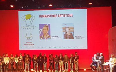 Nos Championnes de France 2017 récompensées par le Département