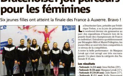 Var Matin 10/05/2018 : Dracénoise : joli parcours pour les féminines
