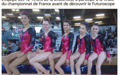 Var Matin 13/06/2018 : Une sixième place aux France à Poitiers