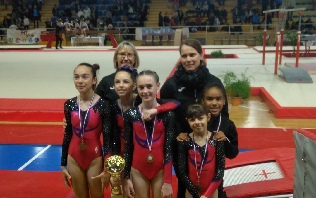 6 Avril 2019: résultat du championnat régional, équipe performance