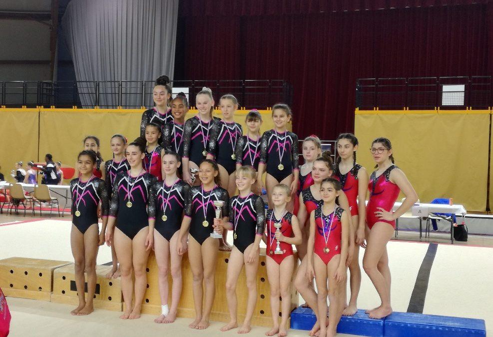 Résultats du Championnat Départemental par équipe Performance du dimanche 2 février 2020